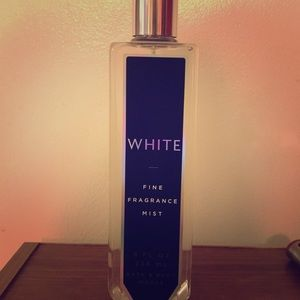 White fragrance mist *BBW rare*